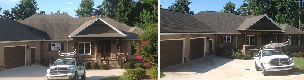 Roof Cleaning Townville Sc Integrity 864 557 4325